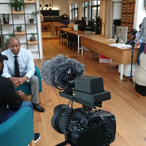 Video shoot with Prime Health London @ The Accelerator Shoreditch