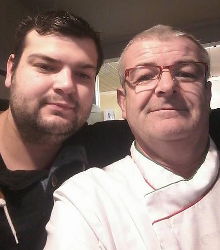 Jérémy et Fabrice Pinet Pause Pizza Courpière Puy de Dôme Auvergne