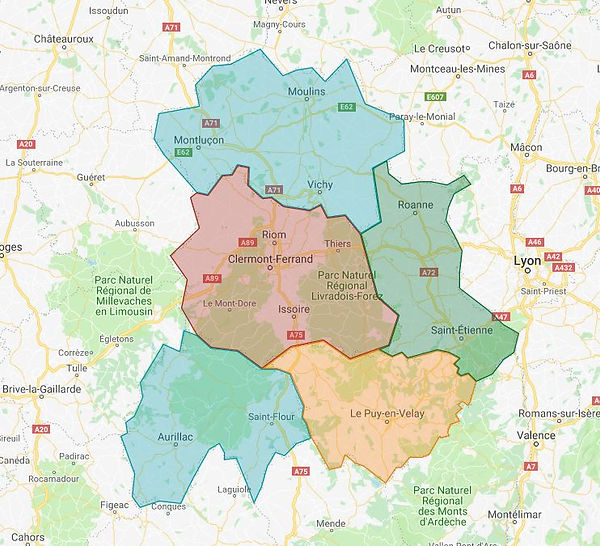 Carte secteurs couverts par Stailift Auvergne.JPG