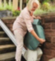 Protection monte escalier extérieur