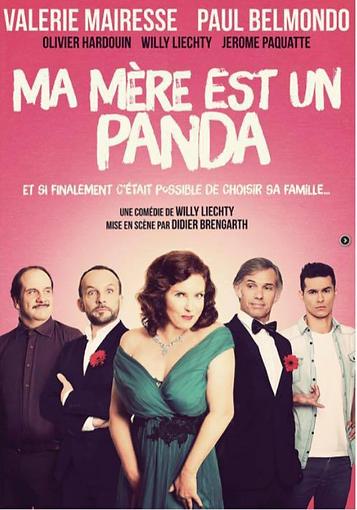 """Affiche de """"ma mère est un Panda"""" avec Olivier Hardouin"""