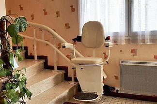 monte escalier courbe