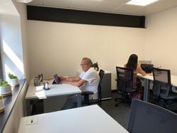 Havelock Hub working office