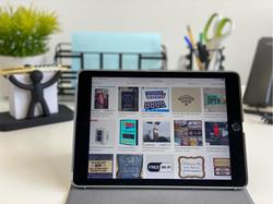 Havelock-Hub-in-Harrow-iPad -on-Desk