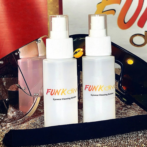 Funk Diva Eyewear Cleaning Solution