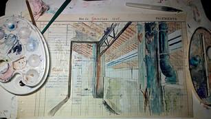 Vestige d'usine avant destruction . Route des usines Mazamet 81200 En cours