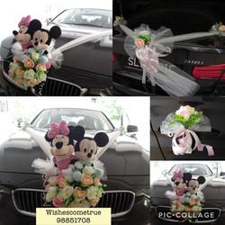 B5 + Customer's Wedding Dolls