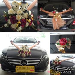 G2 (Upsize Flowers) + 18cm wedding dolls