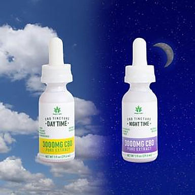 3000mg Tinctures - Day & Night Bundle (2 count)