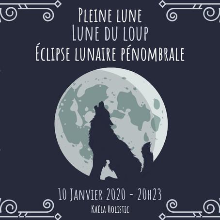 Pleine Lune du 10 Janvier 2020