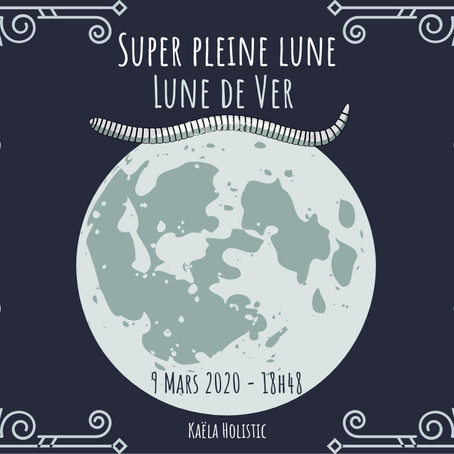 Super pleine Lune 9 Mars 2020