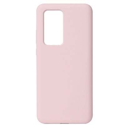 Komass Huawei P40 Pro Liquid Silicone Back Cover Pink Illustration 1