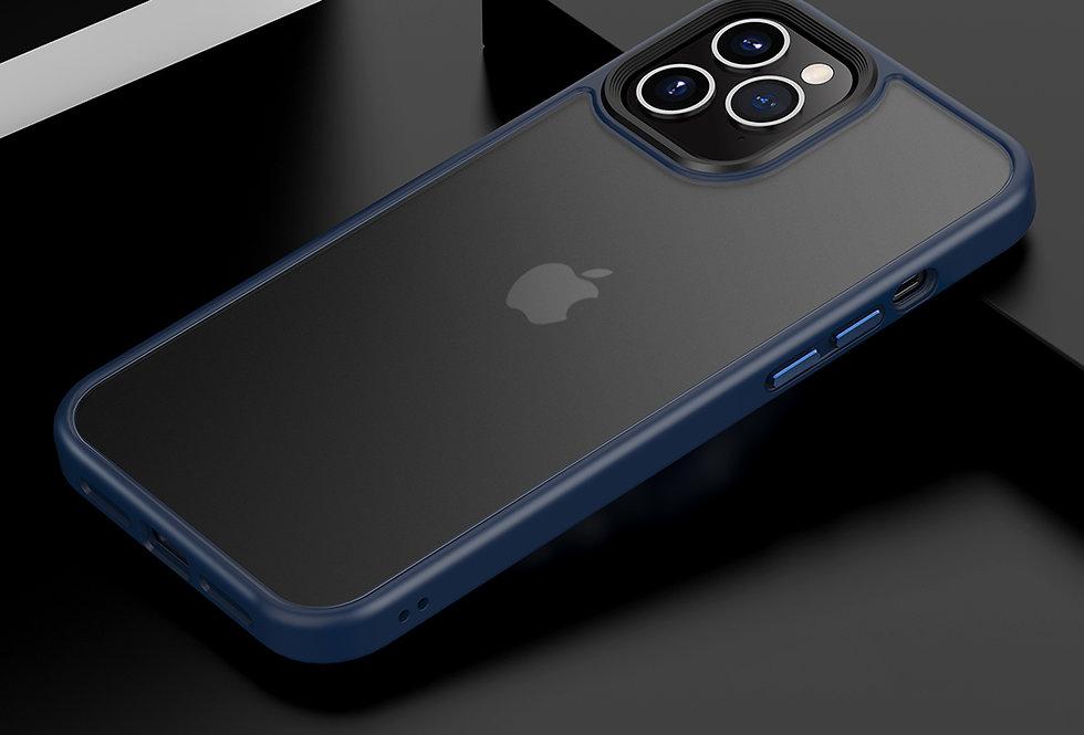 Comma iPhone 12 mini Joy Elegant Anti-Shock Case, Blue