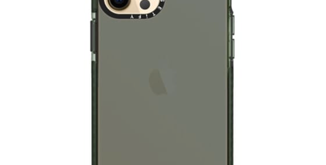 Casetify iPhone 12 | 12 Pro Impact Case, Midnight Green