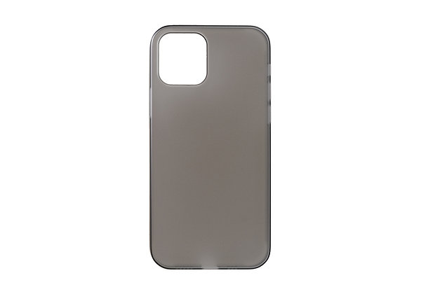 """Power Support iPhone 12 / iPhone 12 Pro 6.1"""" Air Jacket, Smoke Matte"""