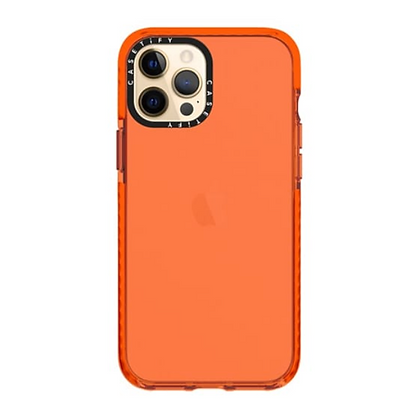 "Casetify iPhone 12 / iPhone 12 Pro 6.1"" Impact Case, Electric Orange"