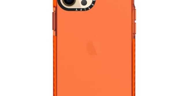 Casetify iPhone 12 | 12 Pro Impact Case, Electric Orange