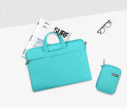 """Comma Macbook Pro 16"""" Emma Bag, Blue"""