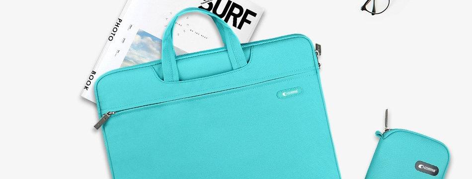 """Comma Macbook Air/Pro 13"""" Emma Bag, Blue"""