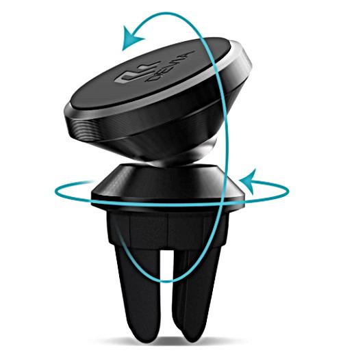Devia-Car-Mount-Titan-Magnet-Black-Illus
