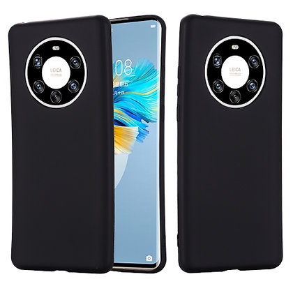 Komass Huawei Mate 40 Pro Liquid Silicone Back Cover Black Cover Photo