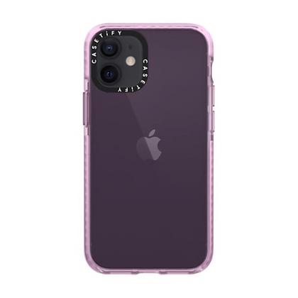 "Casetify iPhone 12 mini 5.4"" Impact Case, Haza Purple"