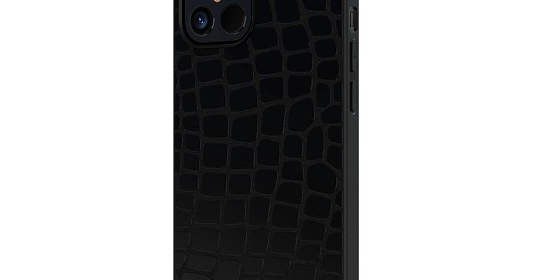 Devia iPhone 12 mini Elegant Leather Case Black