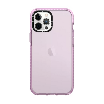 """Casetify iPhone 12 Pro Max 6.7"""" Impact Case, Hot Pink"""