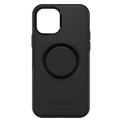 "OtterBox Otter + Pop iPhone 12 Pro Max 6.7"" Symmetry Series, Black"
