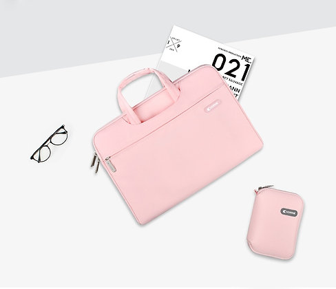 "Comma Macbook Air/Pro 13"" Emma Bag, Pink"