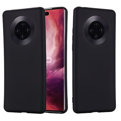 Komass Huawei Mate 40 Liquid Silicone Back Cover Black Cover Photo