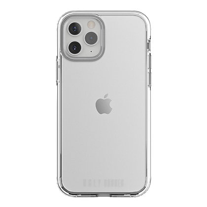 """Ugly Rubber iPhone 12/12 Pro 6.1"""" Pure, Clear"""