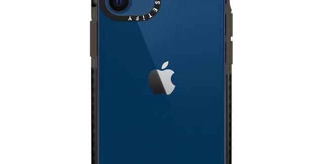 Casetify iPhone 12 mini Impact Case, Black