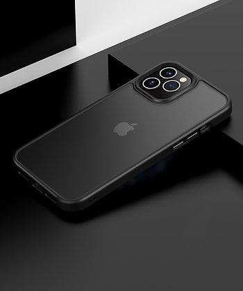 "Comma iPhone 12 mini 5.4"" Joy Elegant Anti-Shock Case, Black"