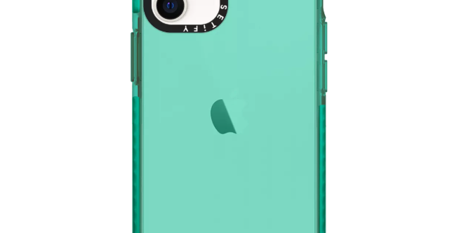 Casetify iPhone 12 mini Impact Case, Teal