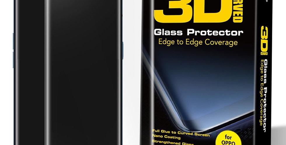 Hoda Oppo Reno4 Tempered Glass, 3D UV Case Friendly