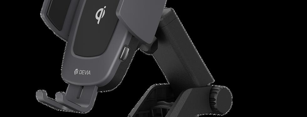 Devia Car Mount Navigation Magnetic Wireless Charging Black