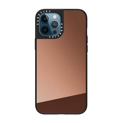 "Casetify iPhone 12 / iPhone 12 Pro 6.1"" Mirror Case, Bronze"