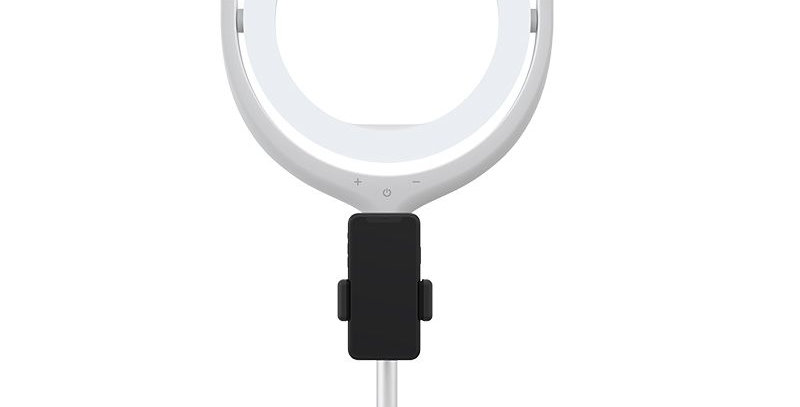 "copy of Devia Live Streaming Desktop Stand with LED Ring Light White (12"", 40cm)"