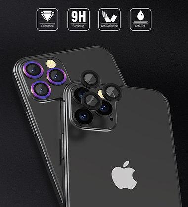 Devia iPhone 12 Pro Gemstone Lens Protector, Graphite (3PCS)