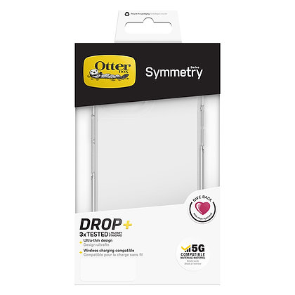 "OtterBox iPhone 12 Pro Max 6.7"" Symmetry Clear Series, Clear"