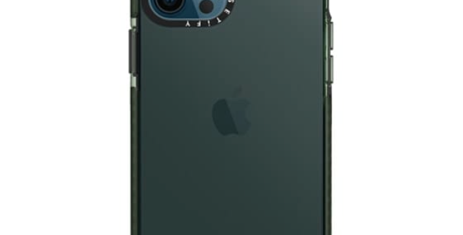 Casetify iPhone 12 Pro Max Impact Case, Midnight Green