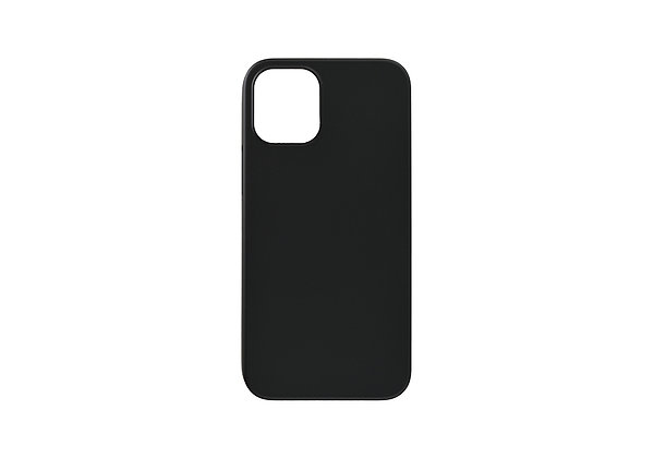 """Power Support iPhone 12 mini 5.4"""" Air Jacket, Rubberized Black"""