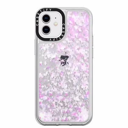 "Casetify iPhone 12 mini 5.4"" Glitter Case, Unicorn Pastel"