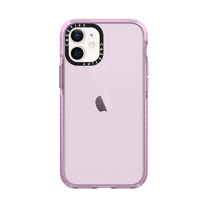 "Casetify iPhone 12 mini 5.4"" Impact Case, Hot Pink"