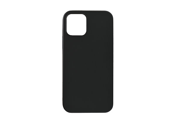 """Power Support iPhone 12 / iPhone 12 Pro 6.1"""" Air Jacket, Rubberized Black"""