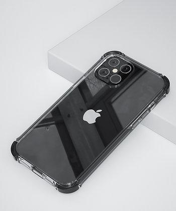 "Comma iPhone 12 Pro Max 6.7"" Toread Shockproof Case, Black"