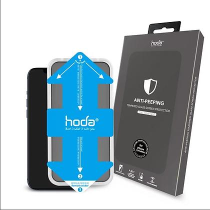 "Hoda iPhone 12 Pro Max 6.7"" Tempered Glass, Privacy"