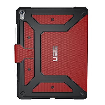 """UAG iPad Pro 12.9"""" (2018) Metropolis Case (V2), Magma (Red)"""