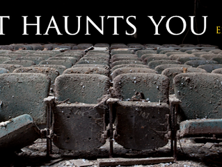 """Public Reading: """"What Haunts You"""" on Feb 15th with Mission to (dit)Mars"""